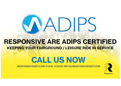 Responsive Join ADIPS (Amusement Device Inspection Procedures Scheme)