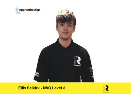 Employee Spotlight – Ellis Selkirk – National Apprenticeship Week 2020