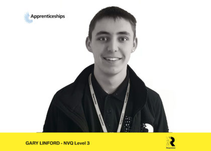 Employee Spotlight – Gary Linford – National Apprenticeship Week 2020